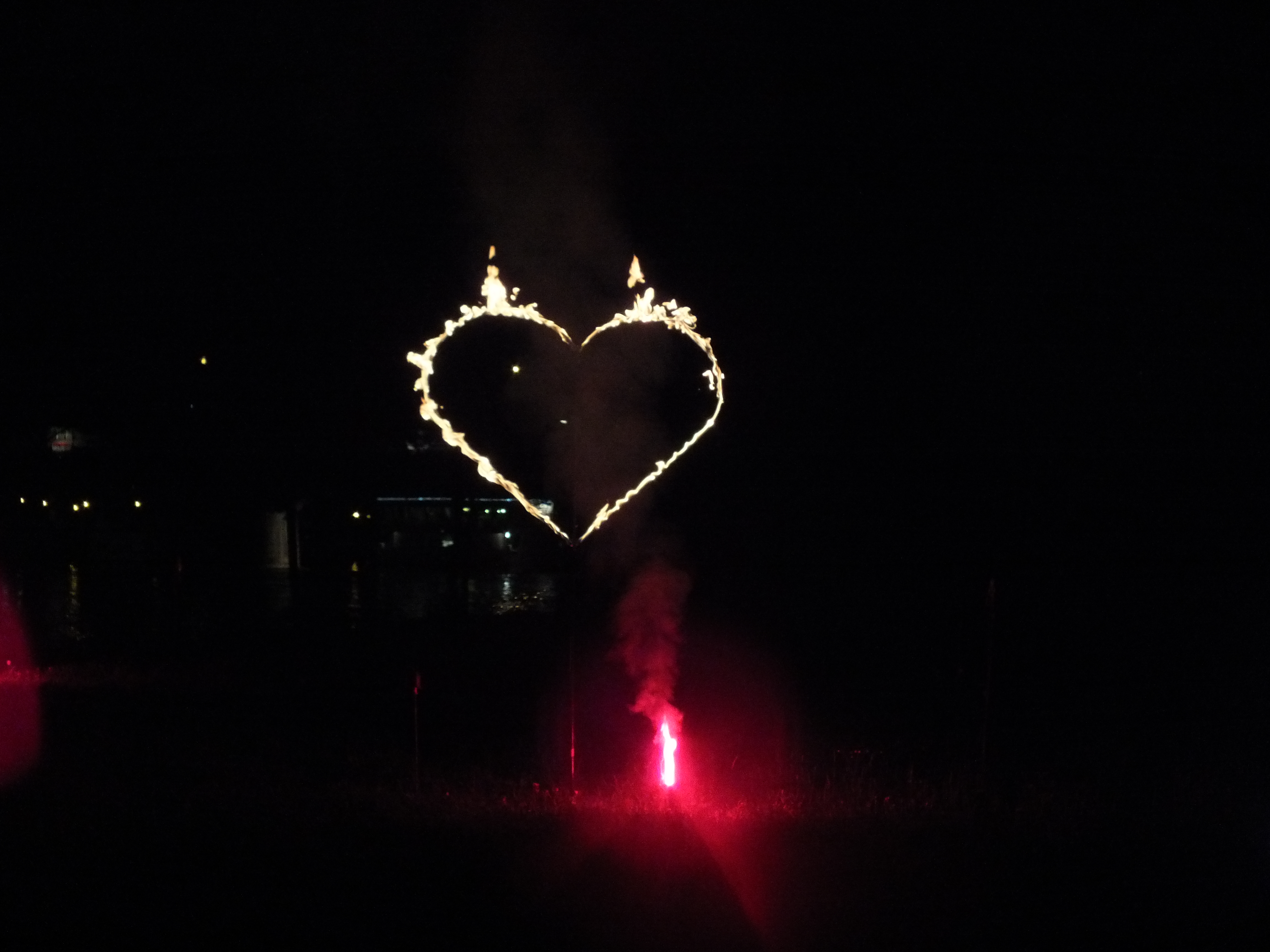 Brennende Herzen/ Zahlen